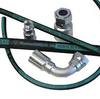 Weatherhead Rubber Hydraulic Hose and Fittings